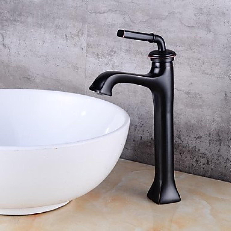 Hzzymj-centerset One Loch für oil-rubbed Bronze, Waschbecken Wasserhahn