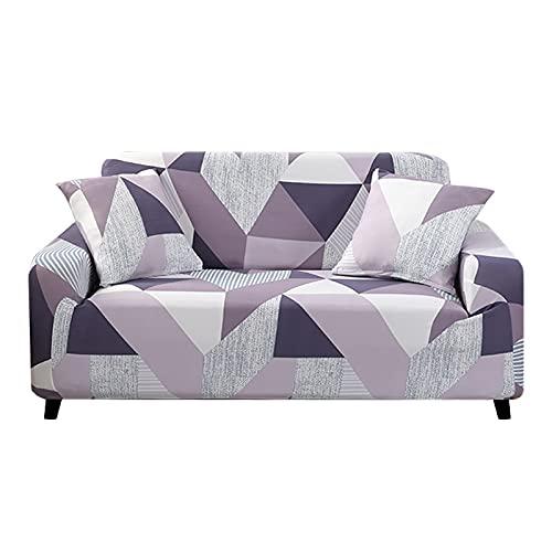 ASCV Funda de sofá elástica para Sala de Estar Funda de sofá Funda de sofá seccional Funda de sillón Muebles elásticos protegidos A4 1 Plaza
