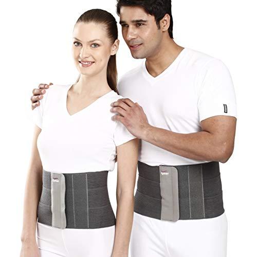 Tynor Tummy Trimmer/Abdominal Belt(8inch/20cm, compression & support to abdominal, Slimming-Men & Women)-Medium