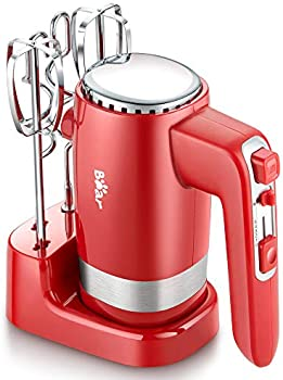 Bear 2x5 Speed Electric Hand Mixer with 4 Stainless Steel Accessories