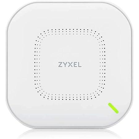 Zyxel Access Point Wireless True WiFi6 AX1800 (802.11ax Dual Band), 1,77 Gbps con CPU Quad Core e doppia antenna 2x2 MU-MIMO, gestibile tramite Nebula APP/Cloud o Standalone [NWA110AX]
