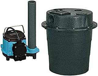 Little Giant WRS-6 1/3HP Water Removal System - 115V- Integral- 7-10