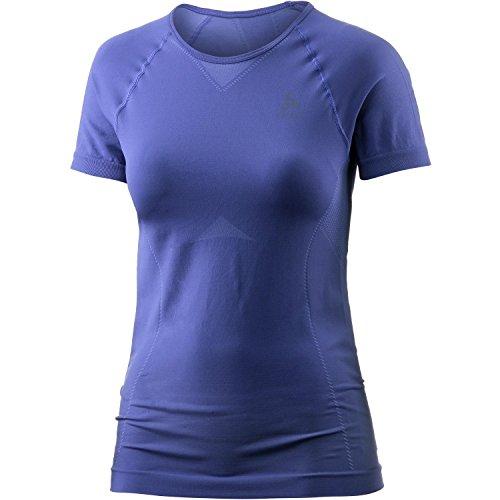 Odlo Maillot de Corps Shirt S Crew Neck Evolution léger L Spectrum Blue/Baja Blue
