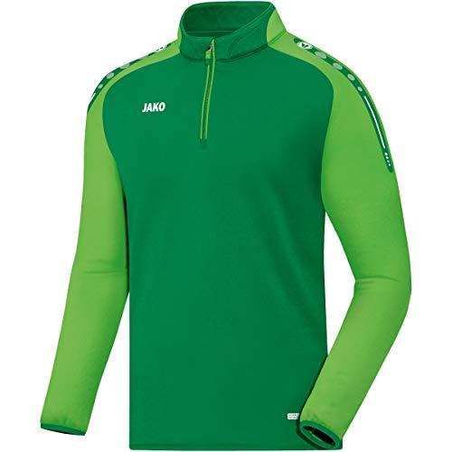 JAKO Herren Ziptop Champ, sportgrün/Soft Green, XL