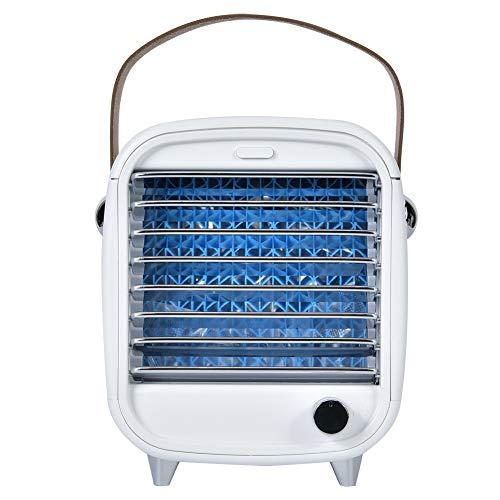 CUTULAMO Ventilador de enfriamiento, Enfriador de Aire de Almohadilla húmeda Gruesa Enfriamiento y humidificación con disipación de Calor de Tres Capas y diseño de Caja de Hielo Nd para brindar