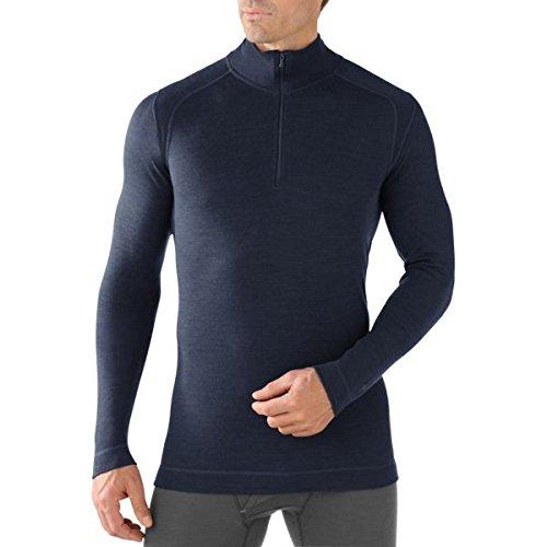 Smartwool Nts 250 Sous-vêtement thermique 1/2 zip Homme - Bleu (Navy) - Taille : XXL