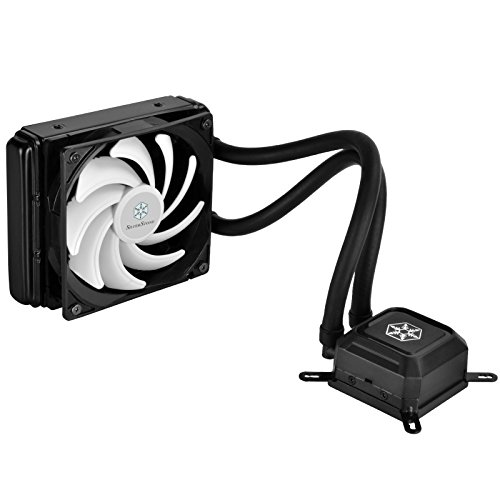 SilverStone Tek Entry 120mm AIO Liquid CPU Cooler with Intel/AMD Including AM4 Support TD03-LITE-V2