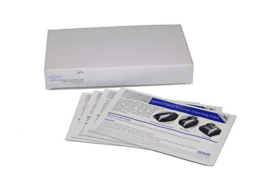 Epson CaptureOne Check Scanner Cleaning Card Featuring Waffletechnology, 15 Cards per Box