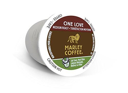 "Marley Coffee ""One Love"" Medium Roast RealCups, Single Serve (96 ct.)"