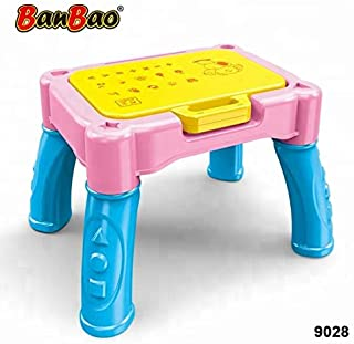 Banbao Learning Table 3 In 1, Multi-Colour, 9028-1, 34 Pieces