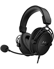 HyperX Cloud Alpha S ゲーミング ヘッドセット 7.1サラウンドサウンド 低音調節スライダー ブラック 2年保証 HX-HSCAS-BK/WW