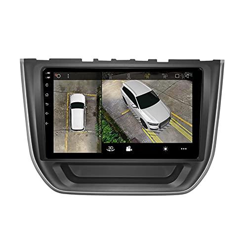 WHL.HH Revertir Imagen Android 10.0 Video Receptor DVD Jugador Apoyo Vehículo Electrónica para RX3 Roewe RX3 2017-2018 Radio FM WiFi GPS navegación Carro Multimedia,S1