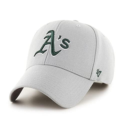 47 Brand Oakland Athletics Adjustable Cap MVP MLB Grey - One-Size