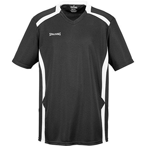 Spalding Offense Shooting Shirt Basketballshirt schwarz schwarz/weiß, S