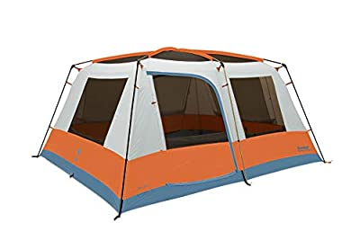 Eureka! Copper Canyon LX 12-Person, 3 Season Camping Tent, Blue/Orange/Birch