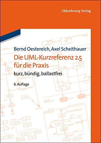 Die UML-Kurzreferenz 2.5 für die Praxis: kurz, bündig, ballastfrei