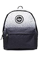 Cool backpack from Hype Two tone gradient design with a speckled fade out print Circular crest logo patch on the front, Outer zip pocket Zip fastened main compartment, Adjustable straps, Grab handle Approximate dimensions are 40 x 30 x 12 cm