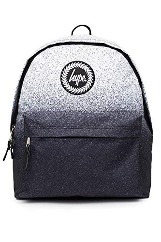 HYPE Speckle Fade Backpack Black/White Schoolbag BTS18012 Hype bags