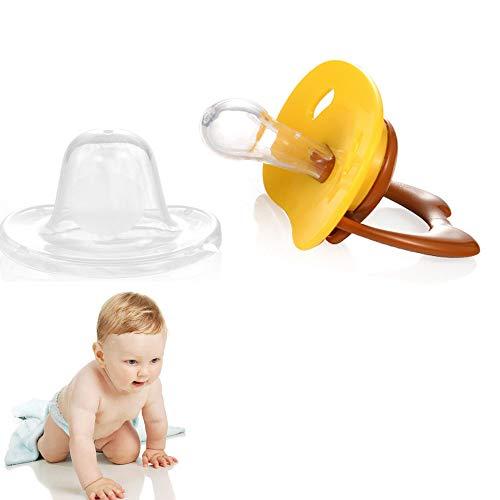 Fopspenen Baby, Fopspenen 0 Maanden + fopspenen met Inklapbare Handle & Two luchtgaten Best Pacifier voor baby's die borstvoeding