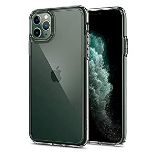Spigen Ultra Hybrid, Designed for iPhone 11 PRO MAX Case, Clear Hard PC Back TPU Bumper with SHOCKPROOF Air Cushion Case - Crystal Clear (B07SZJ2BMV) | Amazon price tracker / tracking, Amazon price history charts, Amazon price watches, Amazon price drop alerts