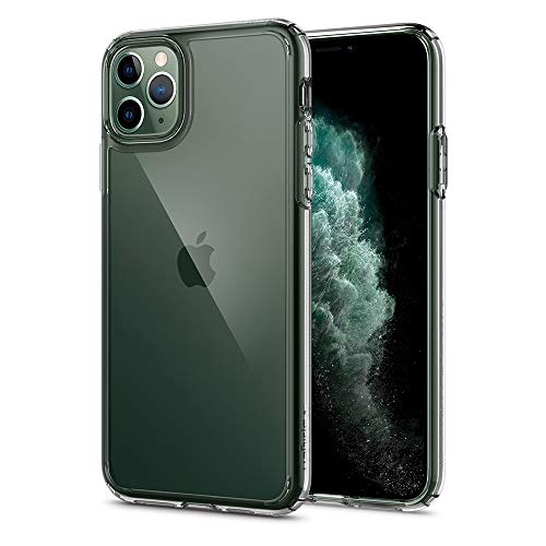 Spigen Ultra Hybrid Kompatibel mit iPhone 11 Pro Hülle, Einteilige Transparent PC Handyhülle für iPhone 11 Pro Hülle Crystal Clear 077CS27233