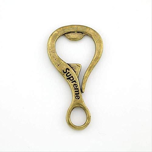 WZ YDTH decoratieve ornamenten creatieve pure koperen opener bierglas opener knutselen kleine hanger