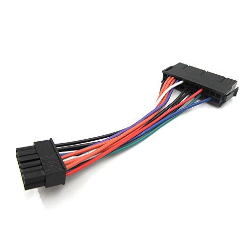 Xhwykzz PSU Power Adaptador de cable de alimentación principal ATX de 24 pines/12 pines, para Acer, 15 cm