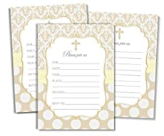 Image of 50 Cross Invitations and. Brand catalog list of .