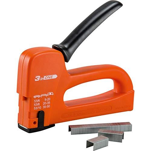 Grapadora manual 3en 1 - Grapadora para grandes volúmenes – Pared – Cableado