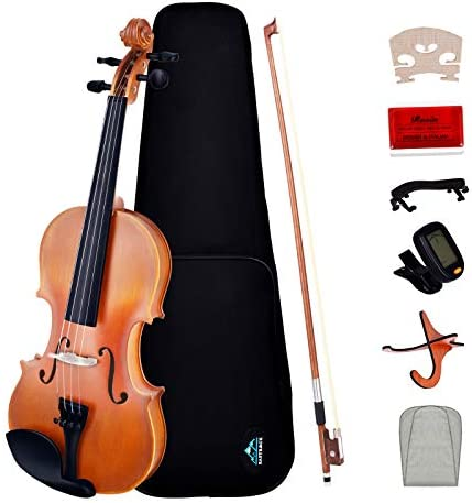 EASTROCK 3 4 Violin for Kids Beginners Students with Electric Violin Tuner Hard Case Violin product image