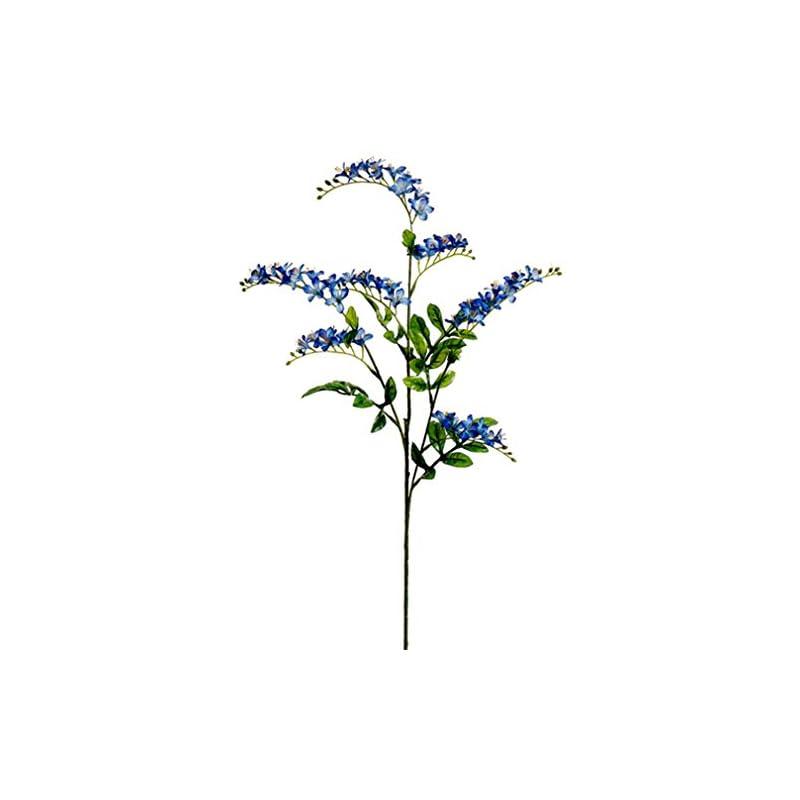 """silk flower arrangements 30"""" silk vinca flower spray -helio (pack of 12)"""