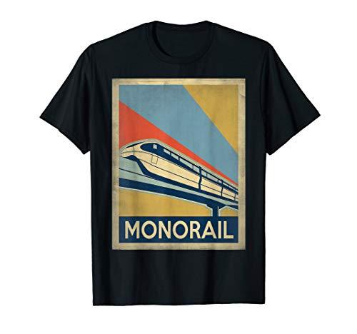 Vintage style Monorail Tshirt