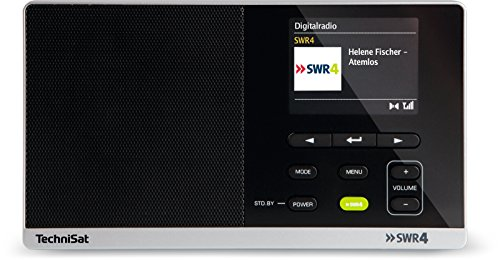 TechniSat Digitradio 215 SWR4 Edition - portables DAB Radio (DAB+, UKW, Farbdisplay,...