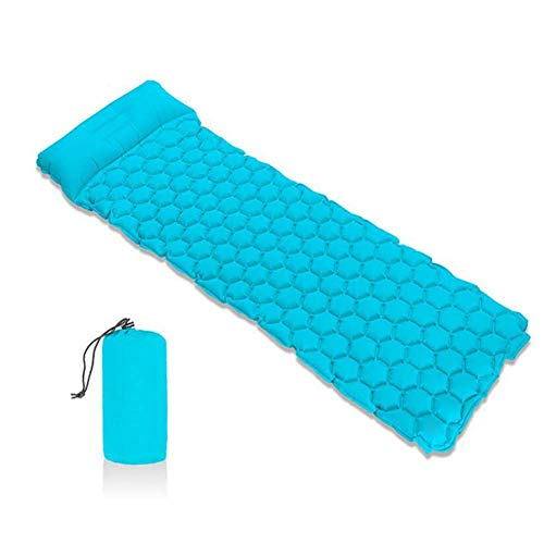 WYJBD Lightweight Compact Inflatable Camping Sleeping Pad, Outdoor Air Mattress, Breathable Soft Comfortable Durable, For Camping Trip Hiking Self-Driving Tour