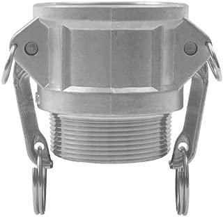 JGB Enterprises 030-02064-864CI Aluminum Type B Cam and Groove Fitting, 4