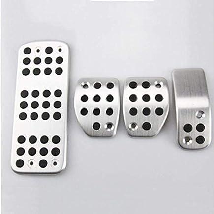 TAABOBO Pedales de Aluminio AT & MT para Citroen C3 C4 / DS 3 4 5 6 DS3 DS4 DS5 DS6 Accesorios para el automóvil Pedal de Descanso Pedal Pad Decoración de ...