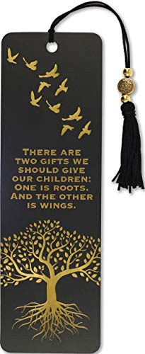 Roots and Wings Beaded Bookmark