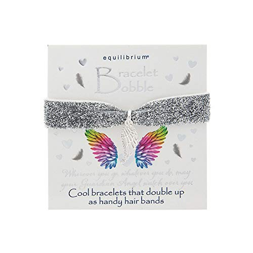 Equilibrium Bracelet Bobble With Silver Plated Charm - Guardian Angel