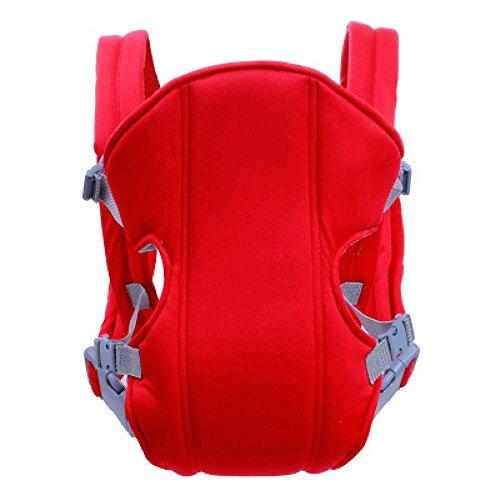 G-YY Baby carrier Four seasons multi-functional baby waist stool strap baby carrier, red