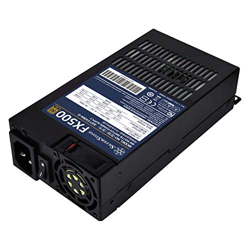 Silverstone FX500, 500W Flex-ATX 80 Plus Gold Netzteil, SST-FX500-G