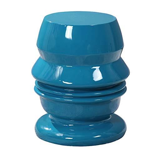GYXZM Taburete De Jardín Taburete De Ceramica para Salón O Jardin - Mesa De Ceramica Color Azul