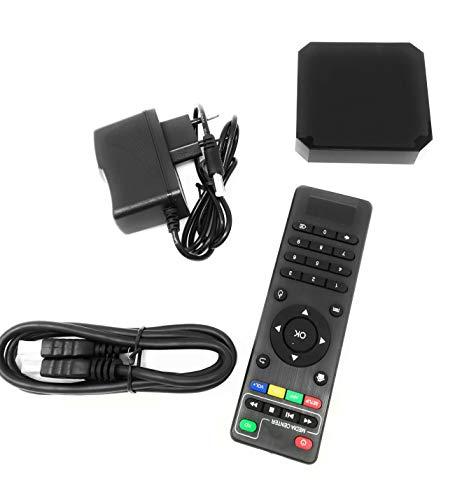 TEMPO DI SALDI Tv Box 4K H.265 Schermo Android 7.1.2 Quad Core Hd 2.0 Wifi Smart Tv 2 + 16Gb