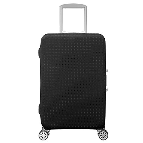 HoJax Waterproof Luggage Protector, Suitcase Covers Fits 19-21 Inch Luggage Black