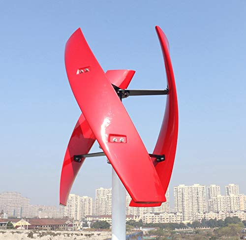 600 Watt Vertical Wind Turbine Power Generator with Controller by Aiboat