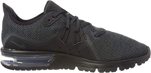 Nike Herren Air Max Sequent 3 Laufschuhe, Schwarz (Black/Anthracite 010), 42 EU