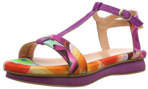 Desigual Damen Sandalia Plana Maza Fashion-Sandalen, Rosa (Fucsia Glamour), 39 EU