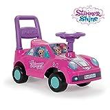 Injusa- Shimmer and Shine Correpasillos Racing Car, Color Rosa (11021)