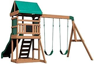 Backyard Discovery Buckley Hill Wooden Swing Set