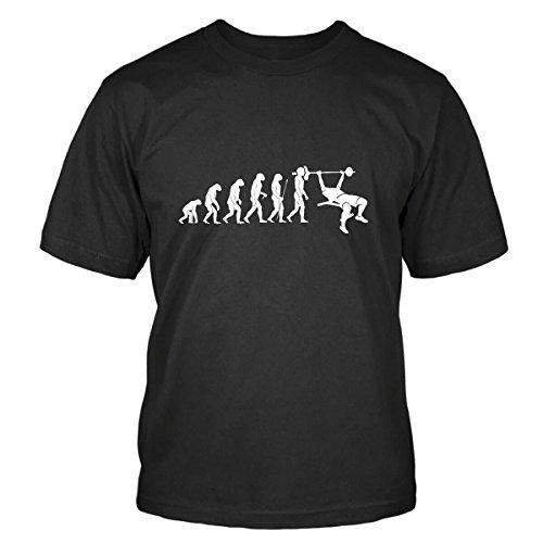 Bankdrücken Evolution T-Shirt Size L