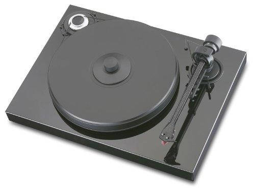 Pro-Ject Xperience Classic Plattenspieler (Tonabnehmer High-Output MC Sumiko Blue Point No. 2) pianolack schwarz